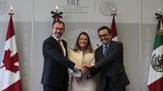 México y Canadá reafirman que negociación del TLCAN es