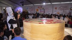 Imponen en México récord Guinness de mazapán más grande del mundo