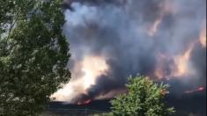 Se extiende incendio en las Montañas Basalt en Colorado