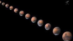 Marte ahora está más cerca que nunca, perfecta ocasión para observarlo a simple vista