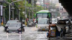 Nuevo ciclón y lluvias de monzón mantienen sin tregua a Manila: suspenden trabajos y escuelas
