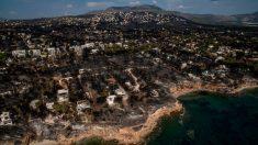 Grecia llora sus muertos: Protección Civil sospecha que los incendios fueron intencionales