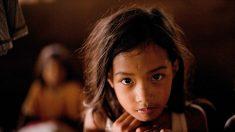 Video de niña sin hogar estudiando bajo la lluvia inspira a miles de personas