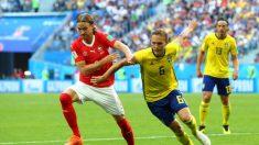 Mundial Rusia 2018: Suecia 1 – Suiza 0, los suizos dominaron el partido, pero un solo error los dejó afuera