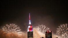 4 de Julio, un espectáculo de fuegos artificiales en el cielo de EE.UU.