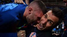 Fotógrafo hispano aplastado por selección croata logra captar imágenes únicas
