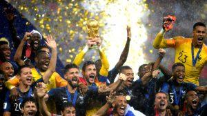 Francia derrota a la poderosa Croacia por 4-2 y se titula Campeón Mundial de Fútbol