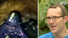 Este buzo recuerda cómo localizaron en las cuevas subterráneas al equipo de fútbol tailandés