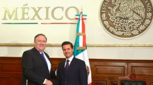 """Peña Nieto promete finalizar """"lo más pronto posible"""" la negociación del Tratado de Libre Comercio con Estados Unidos"""