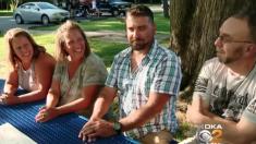 Estos hermanos se encontraron al usar un sitio web de genealogía y reúnen a otras hermanas perdidas