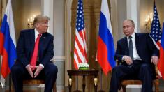 Trump y Putin se reúnen en Helsinki