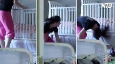 Estos divertidos padres  descubrieron 4 métodos para no despertar a su bebé