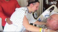 Esta hija le salva la vida a su papá al donarle su riñón. Una parte de mí siempre estará con él