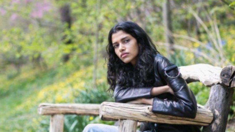 La modelo Pooja Mor en Central Park el 19 de abril de 2016. (Samira Bouaou / La Gran Época)