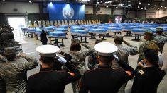 EEUU celebra ceremonia para repatriar restos de caídos en Corea del Norte