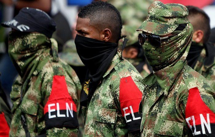 Terroristas del Ejército de Liberación Nacional (ELN). EFE/Archivo