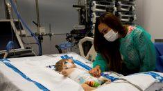 Trasplantan hígado de un donante menor a niña de 13 años y a bebé de 8 meses