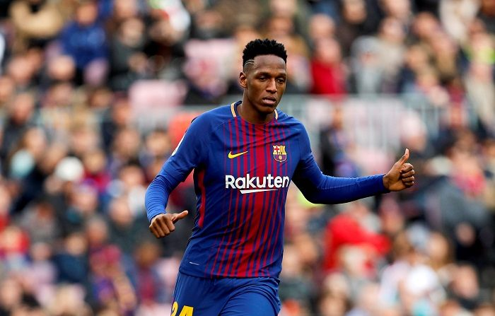 El Barcelona sede al colombiano Yerri Mina por 30 millones de euros al Everton Inglés