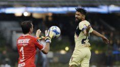 América golea al Monterrey y alcanza a Pumas como líder del Apertura mexicano