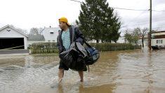 Nueva Jersey enfrenta tercer día de inundaciones por lluvia