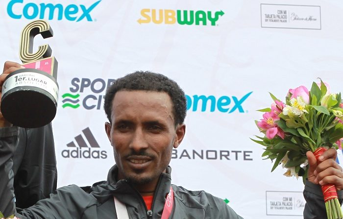El etíope Fikadu Kebede defenderá el título en el maratón de la Ciudad de México, uno de los de más crecimiento en el mundo en los últimos seis años, que se correrá el domingo en el circuito de los Juegos Olímpicos de 1968. EFE/Archivo