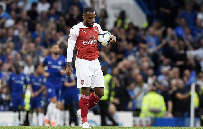 Arsenal y West Ham buscan su primer triunfo; el United, recuperar sensaciones. El jugador del Arenal Alexandre Lacazette durante el partido ante el Chelsea de la jornada anterior. EFE/Archivo