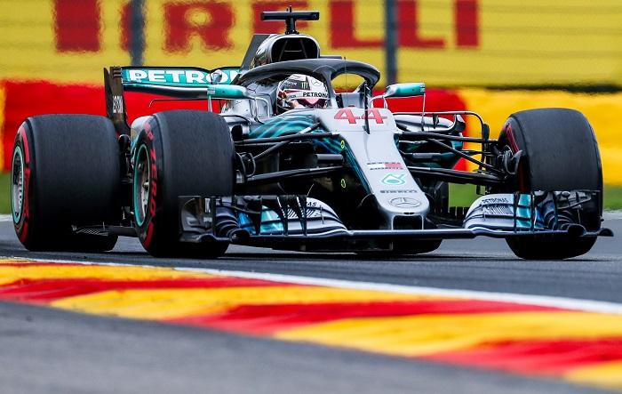 Monza acogerá un nuevo duelo Hamilton-Vettel en la penúltima prueba europea El piloto de Fórmula Uno Lewis Hamilton (Mercedes AMG). EFE/archivo