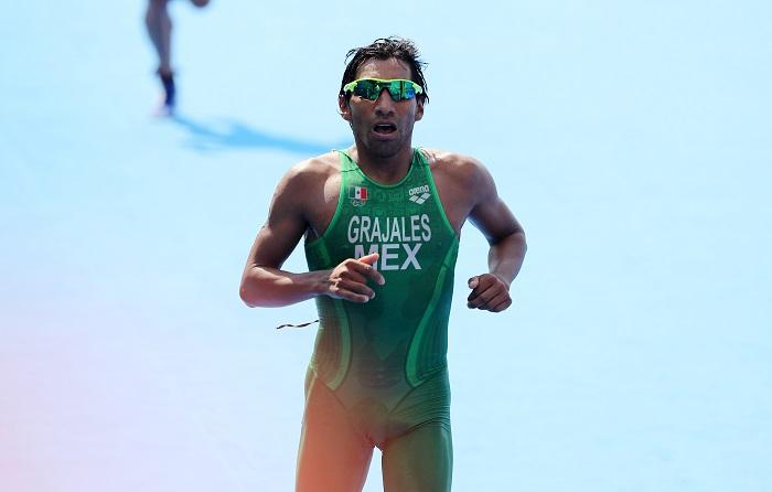 Triatlón mexicano buscará ser protagonista en los Panamericanos de Lima. Fotografía de archivo del atleta mexicano Crisanto Grajales. EFE/Archivo