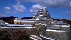 Esta pareja japonesa pasó casi19 años haciendo una enorme réplica del famoso Castillo Japonés Himeji
