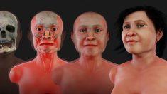 Mujer prehistórica recupera su rostro y brinda atisbo del México antiguo