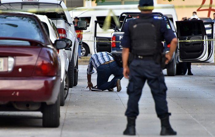 Policías ministeriales   de México. (EFE/Alonso Cupul)