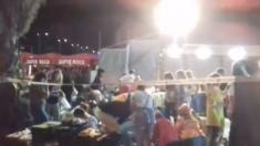 """Escenas de pánico al ceder paseo marítimo en Festival de España, 316 heridos: """"Pensé que no iba a salir"""""""