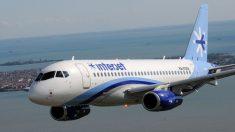 Avión de Interjet con destino a Colombia aterriza de emergencia en Chiapas