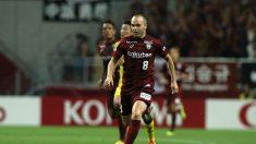 Iniesta se estrena como goleador en Japón a lo grande