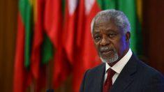 Fallece Kofi Annan, exjefe de la ONU y Premio Nobel de la Paz