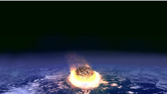 Meteoro explota 2,1 kilotones de fuerza a 40 km de un sistema antimisiles estadounidense