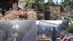 Réplicas de terremotos de 6,3 y 6,9 grados devastan aún mas la isla Lombok en Indonesia: 200.000 afectados