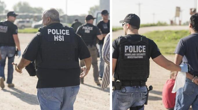 (Oficina de Inmigración y Control de Aduanas de EE. UU.)