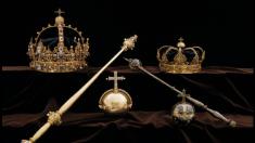 Tras atraco audaz de joyas de la corona de familia real sueca huyen en una lancha