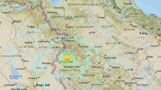 Fuerte terremoto en Irán de 6,1 grados sacude la frontera con Iraq