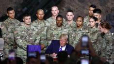 Trump financia al ejército por USD 717.000 millones