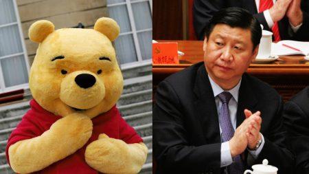 Winnie Pooh sufre censura del régimen chino por memes que marcan su parecido con Xi Jiping