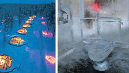 ¡Vivir en hoteles hechos de hielo y nieve es una experiencia emocionante! Conoce 8 hoteles de hielo