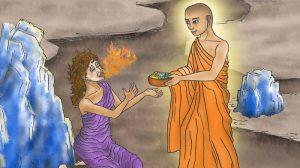 Incluso con superpoderes, Maudgalyayana no pudo salvar a su propia madre