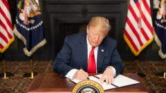 La Casa Blanca volverá a imponer sanciones a Irán, al tiempo que las protestas azotan al régimen