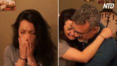 Esta mujer buscó a su padre biológico durante meses, su encuentro es realmente conmovedor