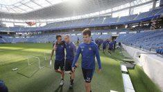 Real Sociedad-Barcelona: Rafinha, titular en el Barcelona
