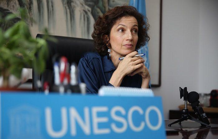 La Unesco designa a Kuala Lumpur capital mundial del libro en 2020. La directora general de la Unesco, Audrey Azoulay. EFE/Archivo