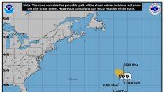 Otra tormenta tropical se forma como