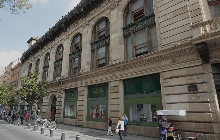 Hechos violentos abonaron establecimiento de cultura de nota roja en México Fotografía del 9 de agosto de 2018, que muestra el edificio Boker, en Ciudad de México (México). EFE